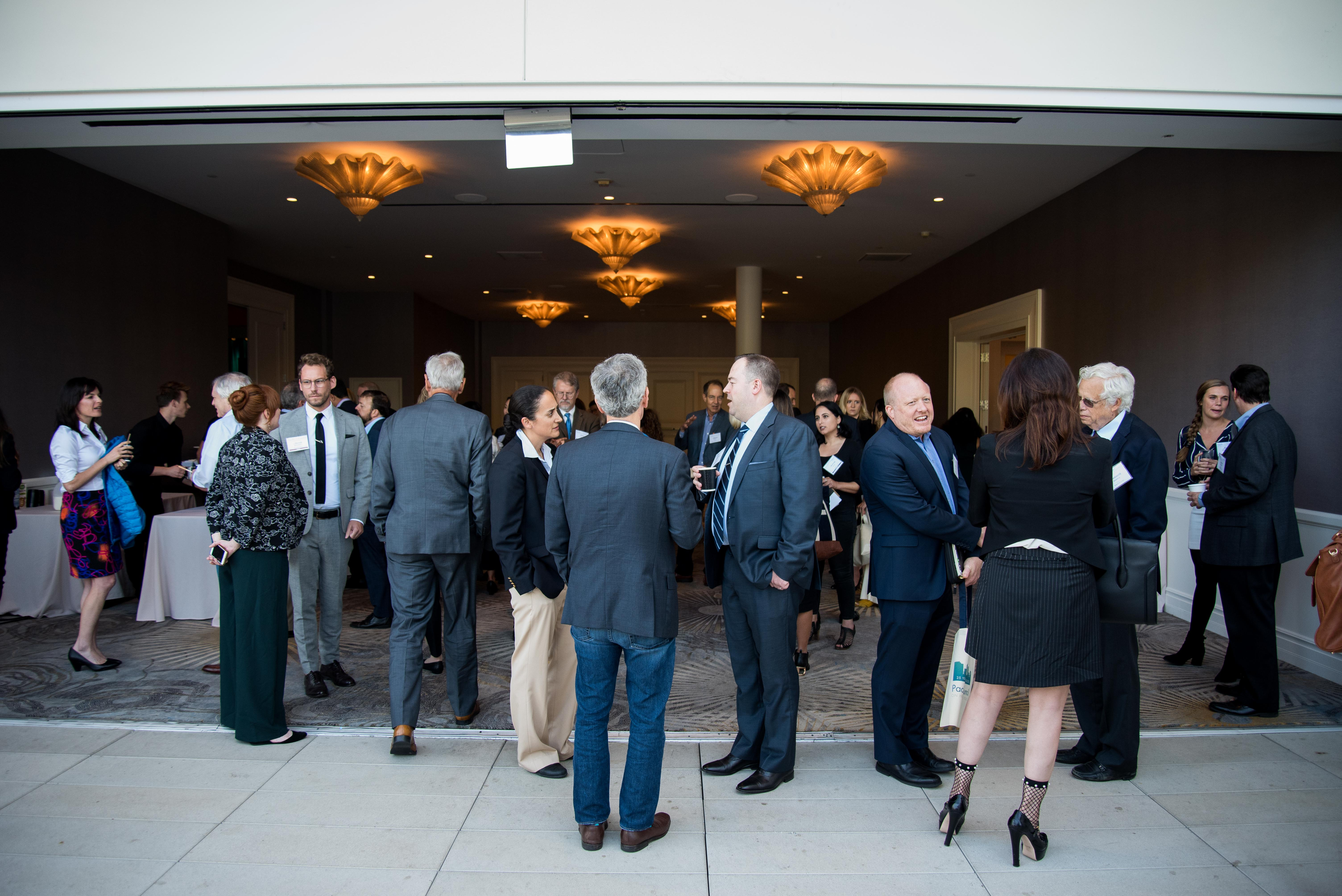 Conference attendees at PolicyWest 2019